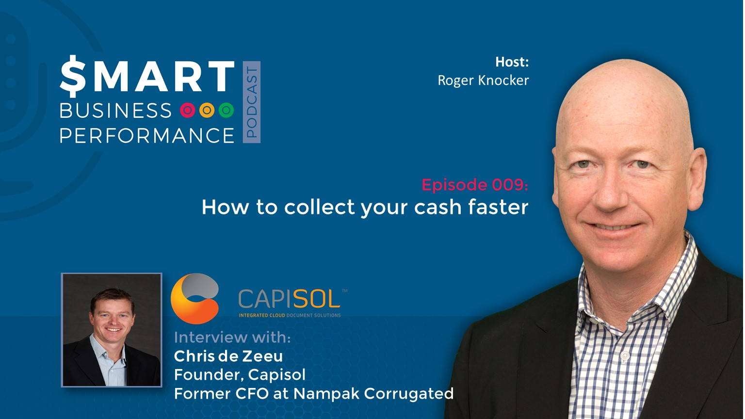 Chris De Zeeu How to collect your cash faster